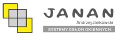 JANAN – Systemy osłon okiennych